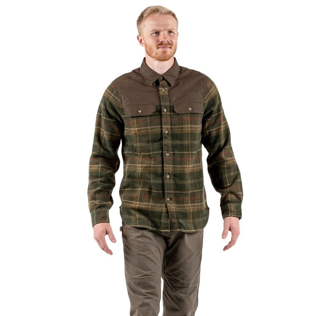 Fjällräven Granit Shirt M Green-2