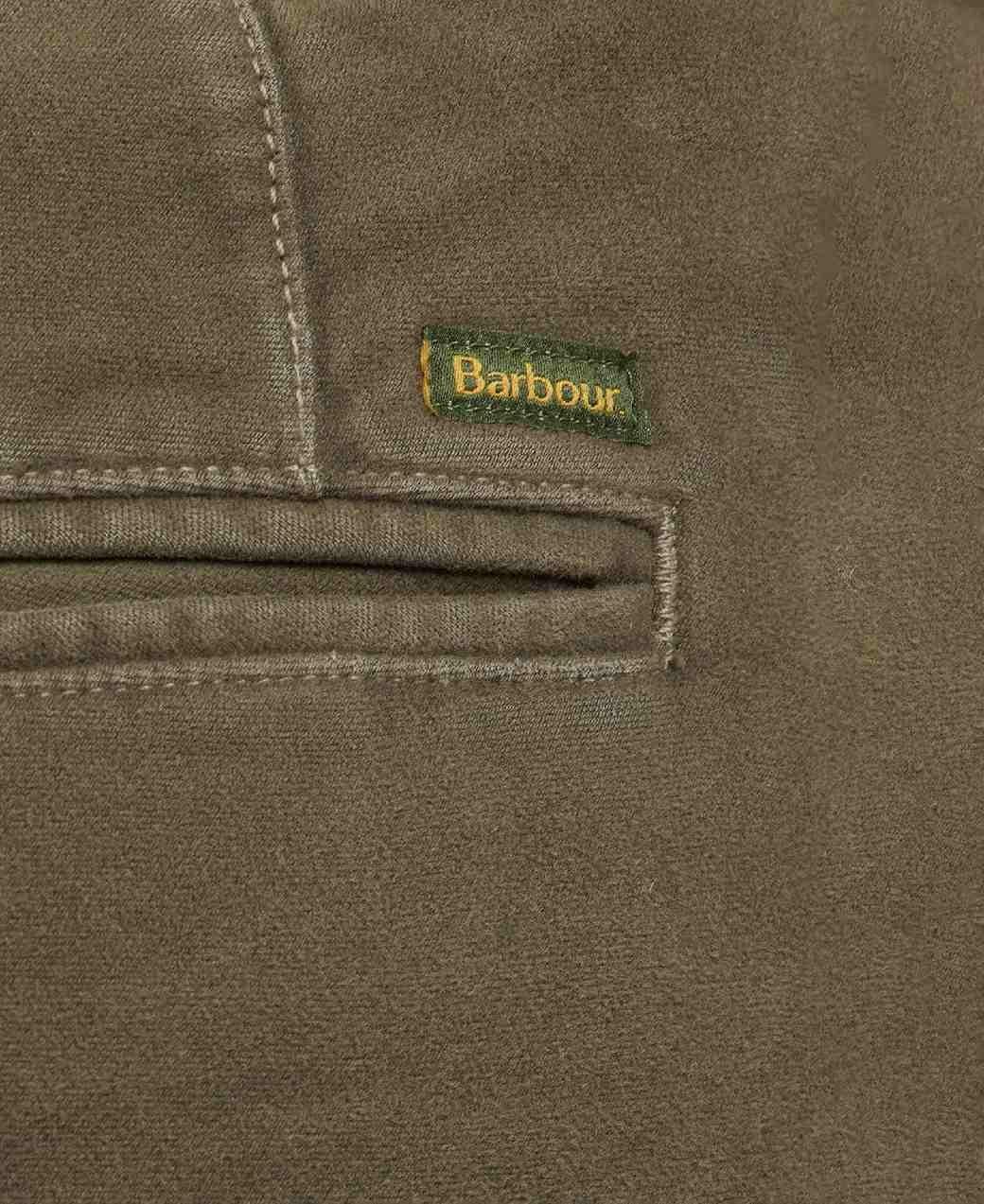 Barbour Neuston Moleskin Trouser Dark Olive-6