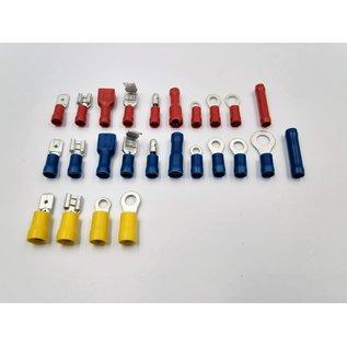 Cable-Engineer 550-delige kabelschoenen set met professionele kabelschoenen en multi-krimptang