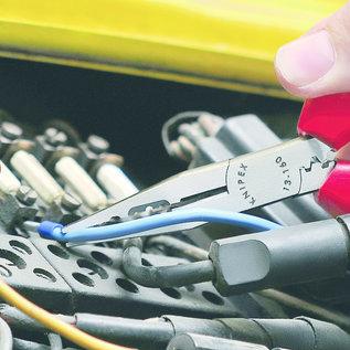 Knipex Multifunctionele bedradingstang voor knippen, strippen, krimpen en buigen  13 02 160
