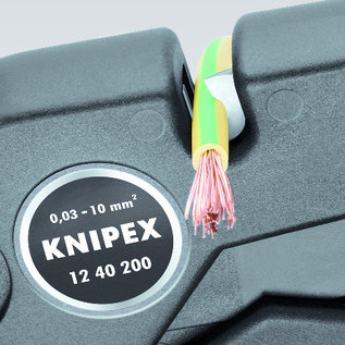 Knipex Automatische afstriptang van KNIPEX  0,03 tot10mm  of  32-7 AWG  12 40 200