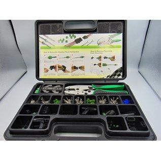 Delphi DELPHI WeatherPack Professional Kit met aluminium krimptang
