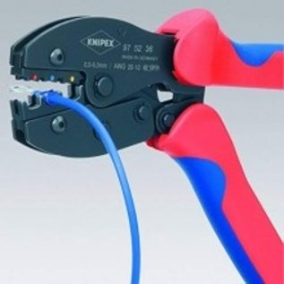 """Knipex KNIPEX Krimp-assortiment kabelschoenen met professionele """"PreciForce""""  krimp-hefboomtang  97 53 36"""