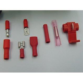 Cable-Engineer Kit Barcelona 16: 1540 Professionele kabelschoenen in 2 kleuren en 8 verschillende uitvoeringen in stevige RAACO assortimentsdoos