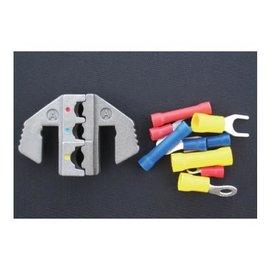 Cable-Engineer Krimp profiel set voor geïsoleerde terminals / kabelschoenen 0,5-1,0 / 1,5-2,5 / 4.0-6.0