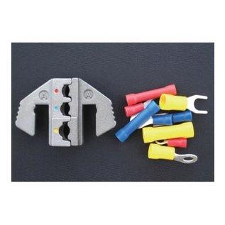 """Cable-Engineer Krimpprofiel voor krimptang met wisselsysteem speciaal voor voor onze 9"""" en  10"""" krimptang voor geïsoleerde terminals/kabelschoenen 0,5-1,0 / 1,5-2,5 / 4.0-6.0"""
