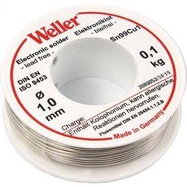 WELLER Weller EL99-1-100 Soldeertin, 1mm, 100gr., Loodvrij