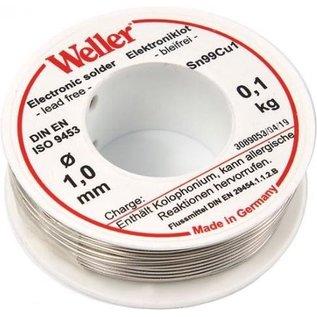 WELLER Weller EL99-1-100 Loodvrij Soldeertin, 1mm, 100gr.  T0054025199