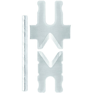 Knipex Originele set messen voor Knipex afstriptang type 12 62 180  (126921)