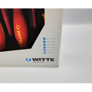 Witte Werkzeuge WITTE 6-delige Pro VDE schroevendraaiers Sleuf / PH 1000V - 670027