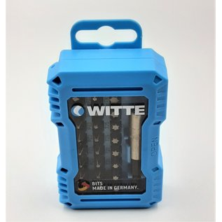 """Witte Werkzeuge WITTE 32-delige Bit-set met adapter en bithouder 1/4"""" - 31201"""