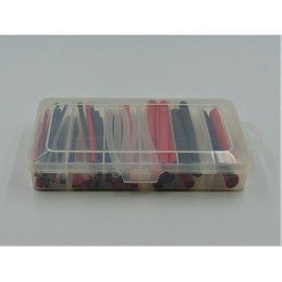 Krimpkous - dubbelwandig 3:1  85st. 3 kleuren Sterke professionele krimpkousen
