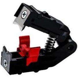 Knipex KNIPEX Reservemessen -complete blok met veer, messen en lengte-aanslag 124931 (1252195)