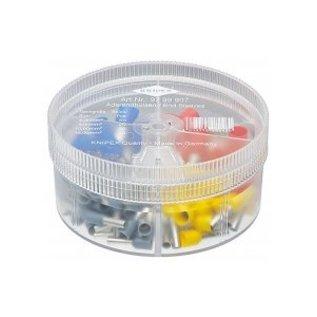 Knipex Knipex assortimentbox  geïsoleerde adereindhulzen 4 / 6 / 10 en 16mm2 100stuks