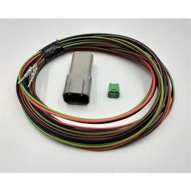 TE Connectivity DT set: 4-Pos. Receptacle + 4x 2m. 0,75mm2  kabel