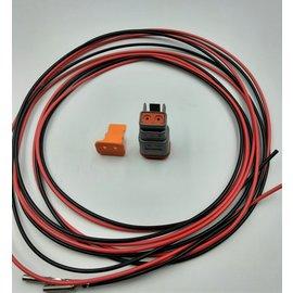 Cable-Engineer DT set: 2-Pos. Plug + 2x 2m. 0,75mm2 kabel