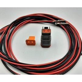 TE Connectivity DT set: 2-Pos. Plug + 2x 2m. 1,5mm2 kabel
