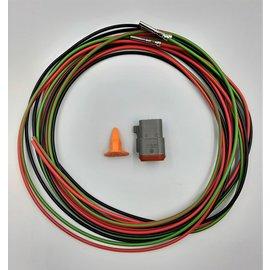 TE Connectivity DT set: 3-Pos. Plug + 3x 2m. 1,5mm2 kabel