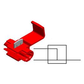 Cable-Engineer Scotch Lock Quick Splice  Rood voor draad Ø  0,5  - 1,0 mm2