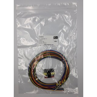 TE Connectivity AMP Superseal 1.5 Pigtail 6-Pos. Plug (man) connector + 6x 2m. FLRY-B  - 0,75mm2