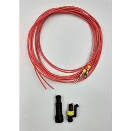 TE Connectivity AMP Superseal 1.5 set: 1-Pos. Tab & Plug + 2meter 0,75mm2