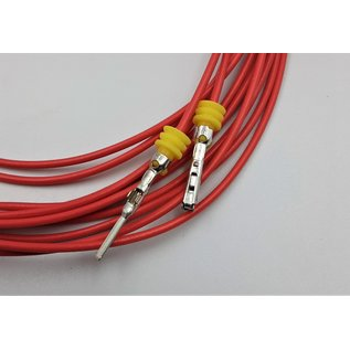 TE Connectivity AMP Superseal 1.5 Pigtail set 1-Pos. Tab & Plug connector + 2x 2m. FLRY-B kabel  0,75mm2