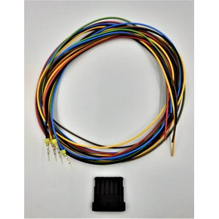 TE Connectivity AMP Superseal 1.5 Pigtail-set met 6-Pos. Tab (vrouw) connector + 6x 2m. FLRY-B kabel 1,5mm2