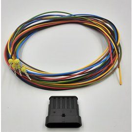 TE Connectivity AMP Superseal 1.5 set:  6-Pos. Tab (vrouw) + 6x 2meter 1,5mm2