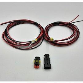 TE Connectivity AMP Superseal 1.5 set 2-Pos Tab & Plug + 4x 2m. kabel  1,5mm2