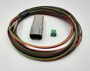 Receptacles (vrouw) 2 t/m 12-Pos.+ 2m. kabel