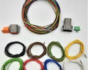 Plug & Receptacle 2 t/m 12-Pos. + 2m. kabel