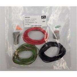 Cable-Engineer DT set: 3-Pos. Receptacle & Plug + 6x 2m. 0,75mm2 kabel