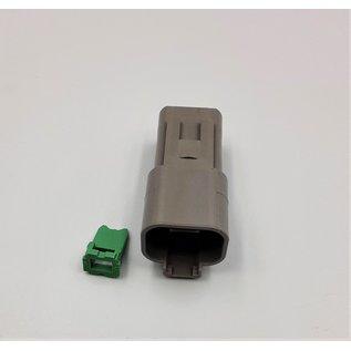 Cable-Engineer Deutsch DT Pigtail-set: 4-Pos. Receptacle (vrouw) met 4x 2meter 1,5mm2 FLRY-B kabel