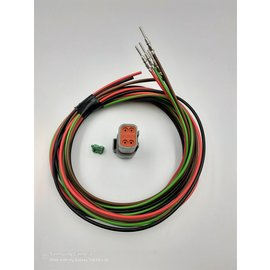 Cable-Engineer DT set: 4-Pos.Receptacle + 4x 2m. 1,5mm2 kabel