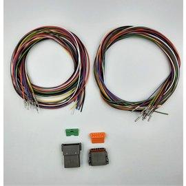 Cable-Engineer DT set: 12-Pos. Receptacle & Plug  + 24x 2m. 0,75mm2 kabel