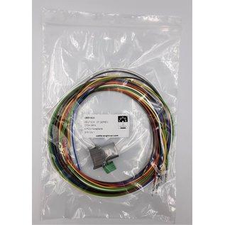 Cable-Engineer Deutsch DT Pigtail-set: 8-Pos. Receptacle (vrouw)  met 8x 2meter 1,5mm2 FLRY-B kabel