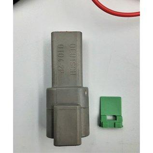 Cable-Engineer Deutsch DT Pigtail-set: 2-Pos. Receptacle (vrouw) met 2x 2meter 0,75mm2 FLRY-B kabel