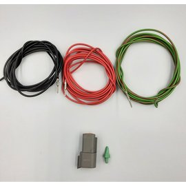 Cable-Engineer DT set: 3-Pos.Receptacle + 3x 2m. 1,5mm2 kabel