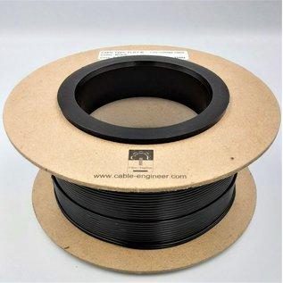 Cable-Engineer FLRY-B kabel 0,75mm - flexibele voertuigkabel  op rol met 100 m. Kleur Zwart