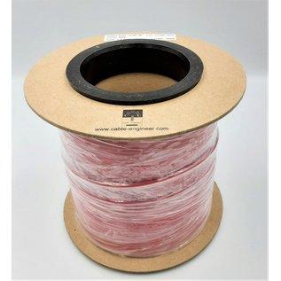 Cable-Engineer FLRY-B kabel 2,5mm - automotive - voertuigkabel  op rol met 100m. Kleur Rood