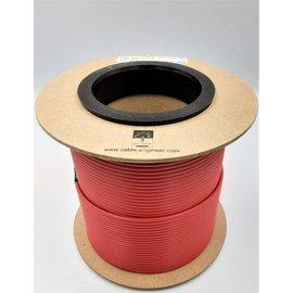 Cable-Engineer 2,5mm2 - FLRY-B voertuigkabel - 100m. op rol - Kleur Rood