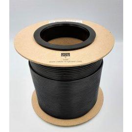 Cable-Engineer 2,5mm2 - FLRY-B voertuigkabel - 100m. op rol - Kleur Zwart