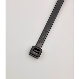 Cable-Engineer Kabelbinders 150 x 7,6 mm Kleur ZWART - 100stuks  (Tie Wraps)