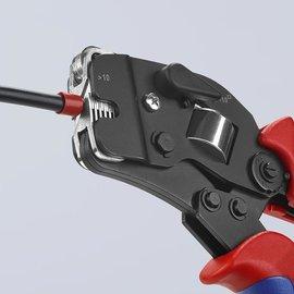 Knipex KNIPEX zelfinstellende krimptang voor adereindhulzen 975309