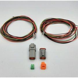 Cable-Engineer DT set: 4-Pos. Receptacle & Plug + 8x 2m. 0,75mm2 kabel