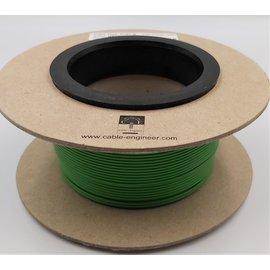 Cable-Engineer 1,0mm2 - FLRY-B voertuigkabel  - 100m. op rol  Kleur Groen