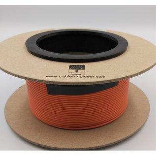 Cable-Engineer FLRY-B kabel 1,0mm2  voertuigkabel  op rol met 100m. Kleur Oranje