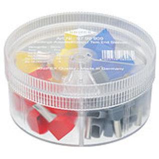 Knipex Knipex assortimentbox  geïsoleerde dubbele adereindhulzen  4 / 6 / 10 / 16mm - 9799909