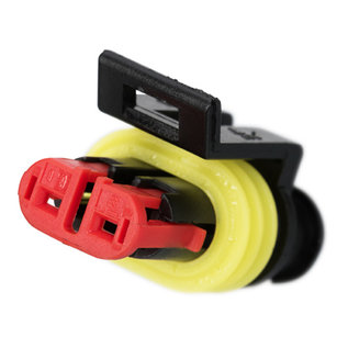 TE Connectivity AMP Superseal 1.5 Pigtail set 2-Pos. Tab & Plug connector + 4x 2m. FLRY-B kabel  0,75mm2