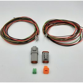 Cable-Engineer DT set: 4-Pos. Receptacle & Plug + 8x 2m. 1,5mm2 kabel